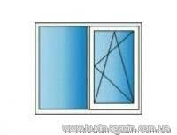 Металлопластиковые окна REHAU Euro 60 1200х1400 Двухкамерное