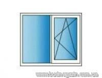 Металлопластиковые окна REHAU Euro 60 1300х1400 Двухкамерное - БудМагазин - Интернет-магазин стройматериалов в Киевской области