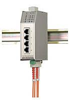 Промышленный коммутатор Microsens MS650509PM-48 (4x10/100Base-TX, 2x100Base-FX ST (SC), PoE)