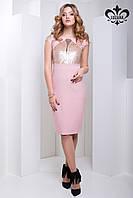 """Красивое  платье """"Глория"""" нежно-розовый"""