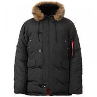 Куртка Chameleon зимняя аляска n-3b Black