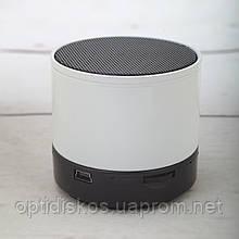 Bluetooth портативная колонка, S-10, белая