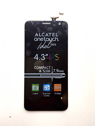 Дисплей + сенсор Alcatel One Touch Idol Mini OT-6012A 6012D 6012W 6012X