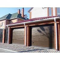 Ворота гаражные секционные (готовые размеры)