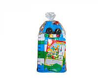 Конструктор крупные детали для детей Макс-4 пластик тм Технок