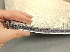 Фольгированная шумоизоляция для авто войлочная  ИФВ-14К, влагостойкая, самоклейка, (78×50) толщина 14 мм