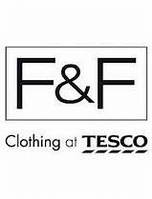 Мужская одежда и обувь Tesco (F&F)