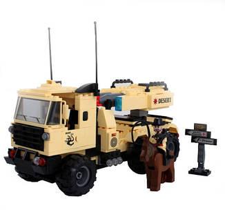 Конструктор BRICK 822 военная машина, фото 2