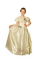 Платье детское праздничное нарядное новогоднее бальное Фиалка зеленое