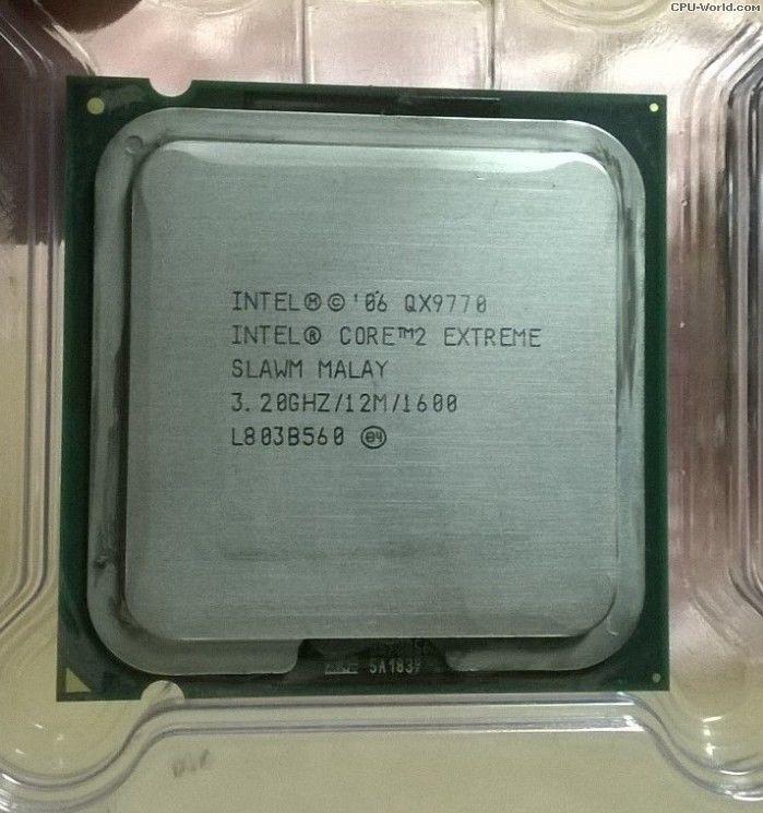 """Процессор Intel Core 2 Extreme QX9770 3.2GHz  Б/У """"Over-Stock"""""""