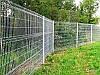 Ограждение / Забор секционный 1,26 м х 2,5 м из сварной сетки оцинкованной. Стандарт
