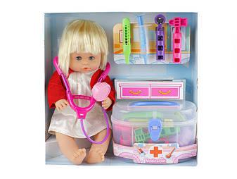 Кукла 1303 B набор доктора в чемодане, фото 2
