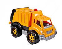 Машинка мусоровоз, детский транспорт спецтехника пластик тм Технок
