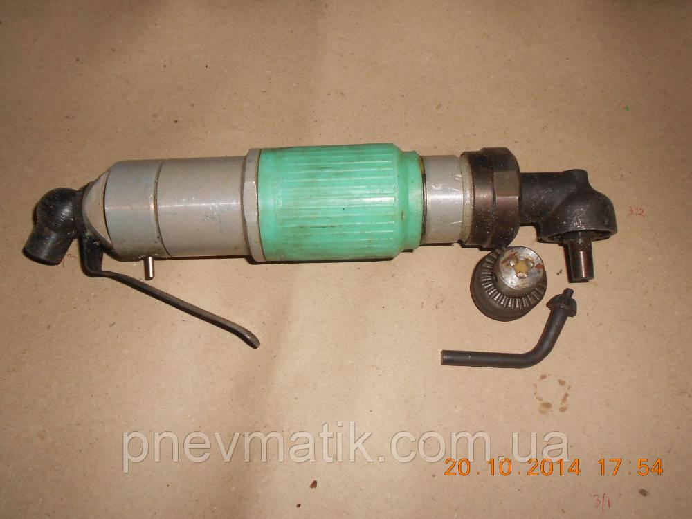 Дрель угловая пневматическая СМУ-21-6-500   с патроном в10 1-6мм