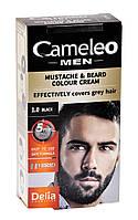"""Крем-краска для бороды, усов и бакенбардов 1.0 черная """"Delia"""" CAMELEO MEN (30ml)"""