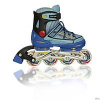 Роликовые коньки детские EXPLORE KEDDO PRO Синие (28-31)