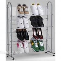 Полка для обуви хром/металл