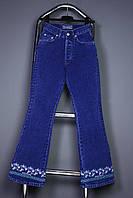 Синие подростковые джинсы на девочку