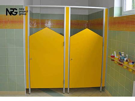 Туалетные кабины для детских садов