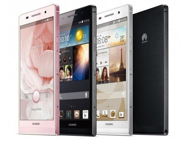 Huawei Ascend P-серия