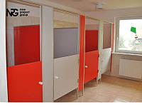 Туалетные перегородки для санузлов детских садов