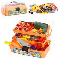 Игровой набор инструментов 2108 в чемодане