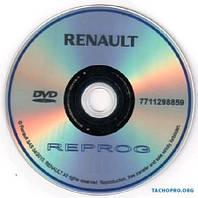 Дилерская база прошивок автомобилей марки Renault