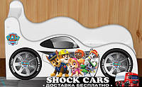 Новнка! Кровать машина ЩЕНЯЧИЙ ПАТРУЛЬ для мальчика или девочки купить http://кровать-машина.com.ua/ БЕСПЛАТНАЯ ДОСТАВКА! Детская мебель с рисунками под заказ!