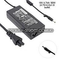 Блок питания для ноутбука HP/Compaq DV1500 DV1550, DV1550SE, DV1580, DV1580SE 19V 4.74A 90W (4.75+4.2)x1.6(B)