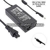Блок питания для ноутбука HP/Compaq DV1000 DV1008eAP, DV1009AP, DV1009eAP 19V 4.74A 90W (4.75+4.2)x1.6 (B)