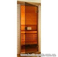 Двери для сауны Saunax Classic (бронза) 200х80 Эстония