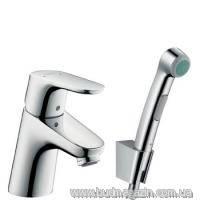 Hansgrohe Focus E2 Смеситель для раковины с гигиеническим душем 31926000