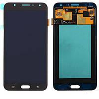 Дисплей для Samsung Galaxy J7 J710 (2016), модуль в сборе (экран и сенсор), черный, оригинал