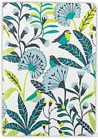 Handmade Embroidered Journal. Avian Tropics