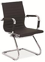 Q-123 офисный стул из эко-кожи SIGNAL