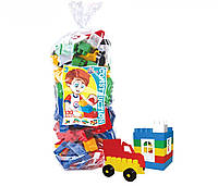 Детский конструктор Техно 130 элементов пластик тм Технок