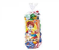 Детский конструктор Техно 190 элементов пластик тм Технок