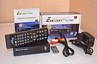 Эфирный цифровой FTA приемник стандарта DVB-T/T2 Eurosky ES-11 PVR с функцией записи