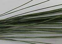 Проволока флористическая, декоративная проволока. Зеленая 0,9 мм, фото 1
