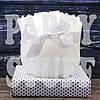 Свадебная свеча Розочки в связке белая