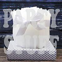 Свадебная свеча Розочки в связке белая, фото 1