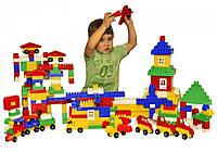 Детский конструктор Техно 540 элементов пластик тм Технок