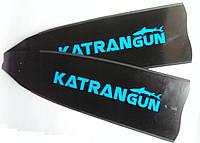 Стеклопластиковые лопасти для ласт KatranGun Black