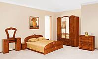 Спальный гарнитур Антонина глянцевая, модульная мебель для спальни