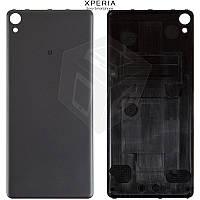 Задняя часть корпуса (крышка) для Sony Xperia XA F3112, F3113, F3115, F3116, черный, оригинал