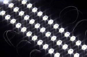 Светодиодный модуль M-5730SMD3CW-12 холодный белый IP67 Код.57578, фото 2