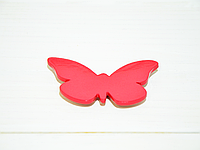 Магнит бабочка красная большая
