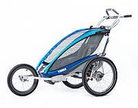 THULE Chariot CX1 - коляска для бега и езды на велосипеде, цвет голубой