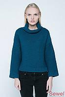 Вязаный модный женский свитер