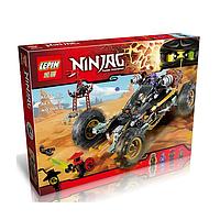Конструктор Lepin аналог Lego. Конструктор Ninjago 06032, горный внедорожник Коула. 443 детали